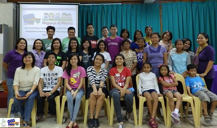 The teachers of the nine different vacation bible schools were first given a seminar at LIC- Timog.